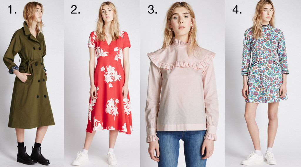 The 4 Items I Want from the Archive Alexa Chung Collection