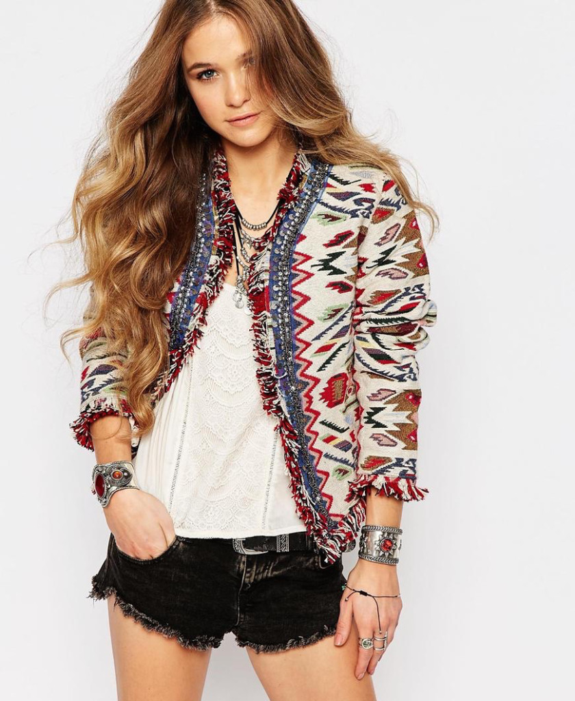 Want it on Wednesday: The Festival-Ready Jacket That Appeals to My Inner Boho