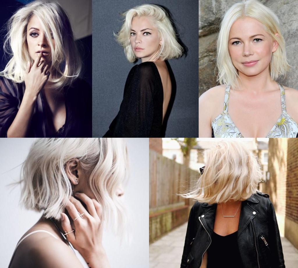 Can a Fair-Skinned and Dark-Browed Gal Rock a Super, Super Blonde Do?!