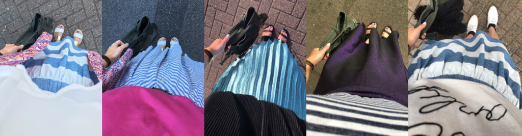 When the Sun is Sweltering I Reach for My Trusty Midi Skirts