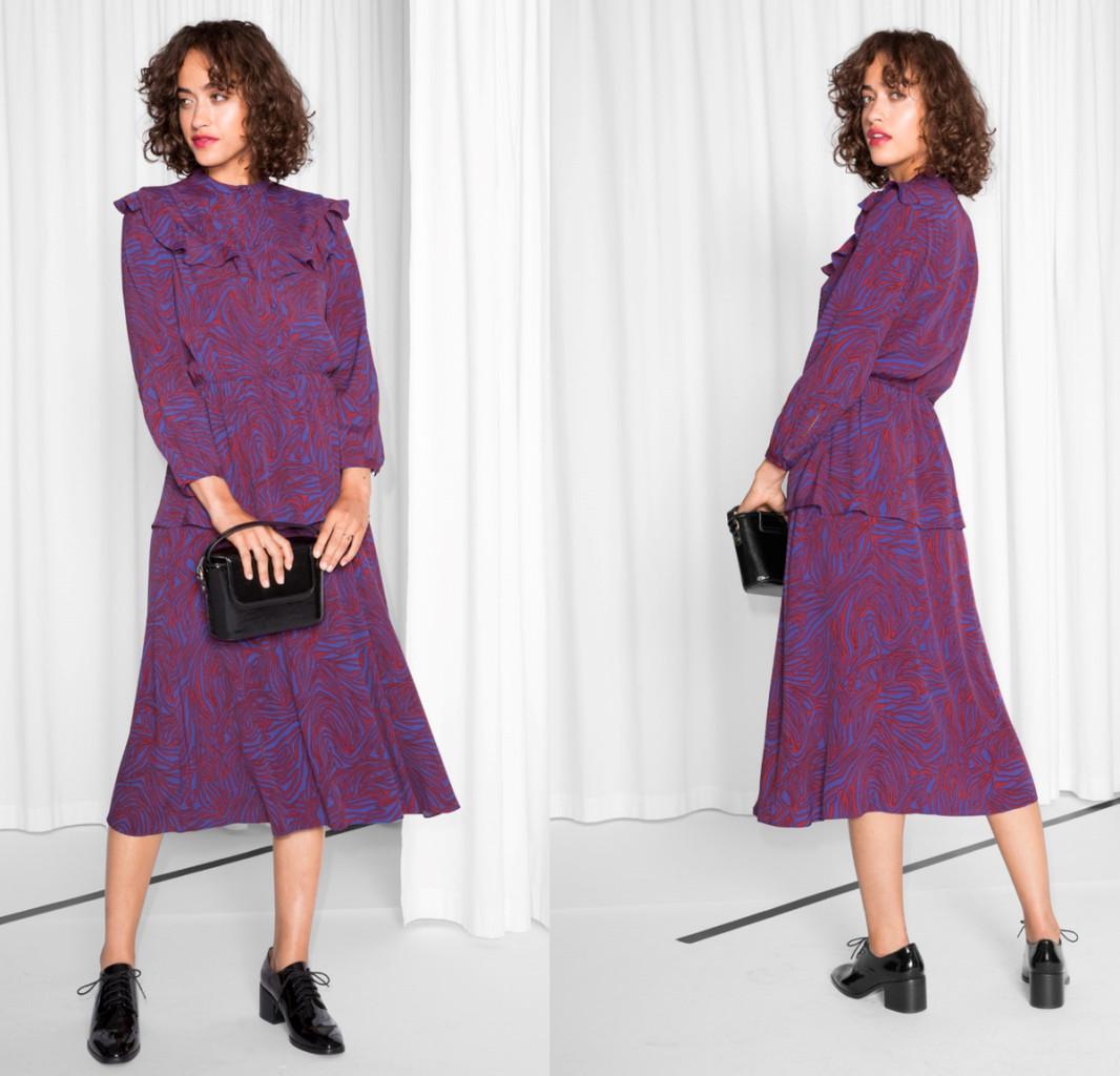 Want it on Wednesday: Zebraic Chambermaid Dress