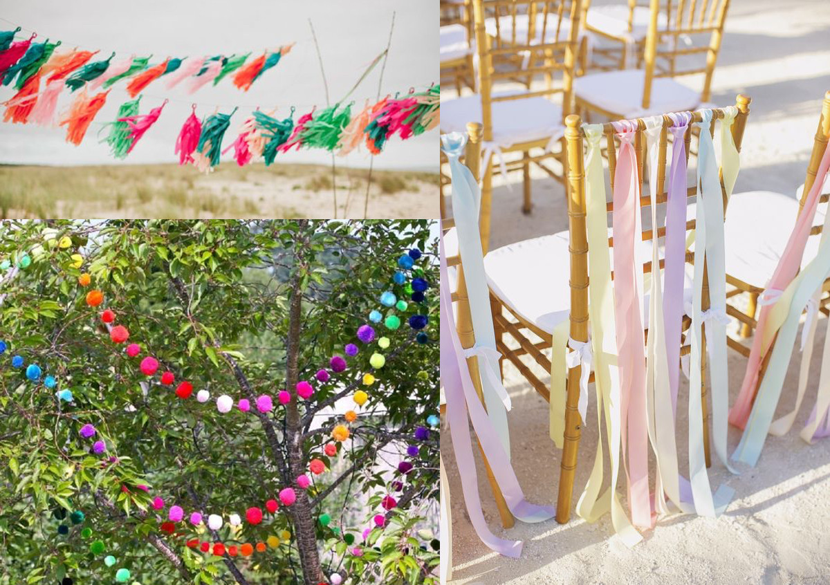 My Obsession with Pom Poms and Tassels Continues… For My Wedding