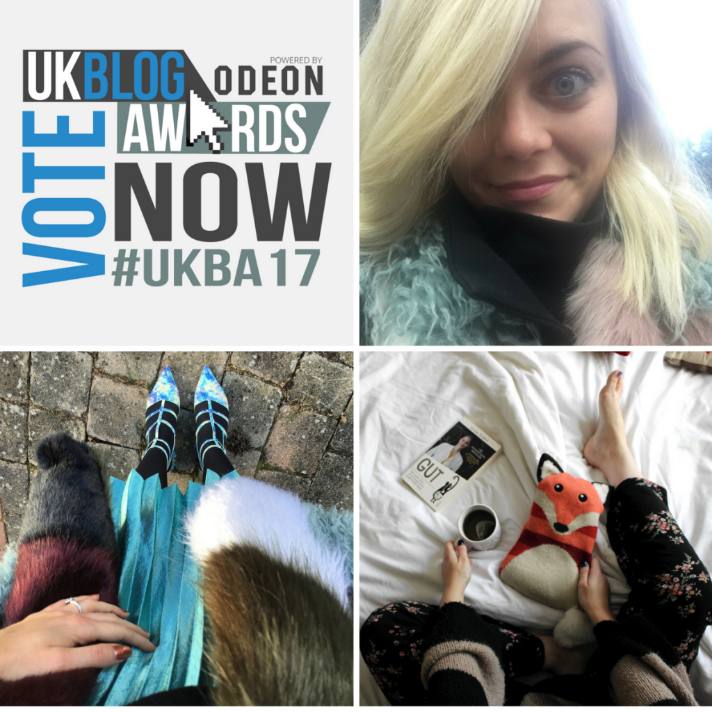 Go Vote for Me in the UK Blog Awards and Make Me Blush