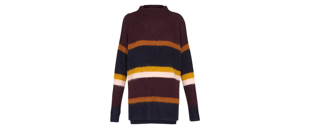 Want it on Wednesday: This 1970's Striped Mohair Knit