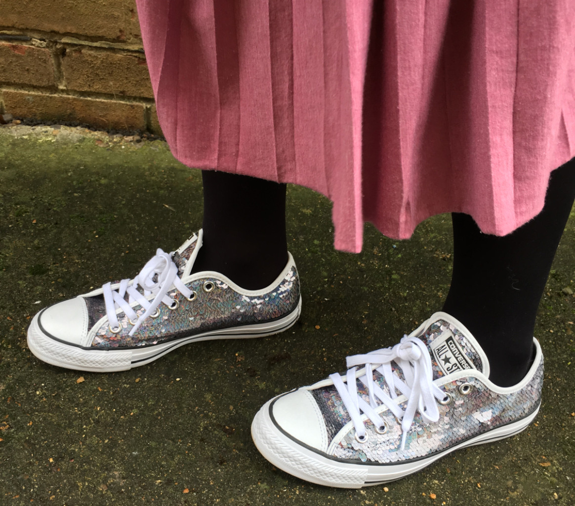 A Love Letter To… My Sequin Converse