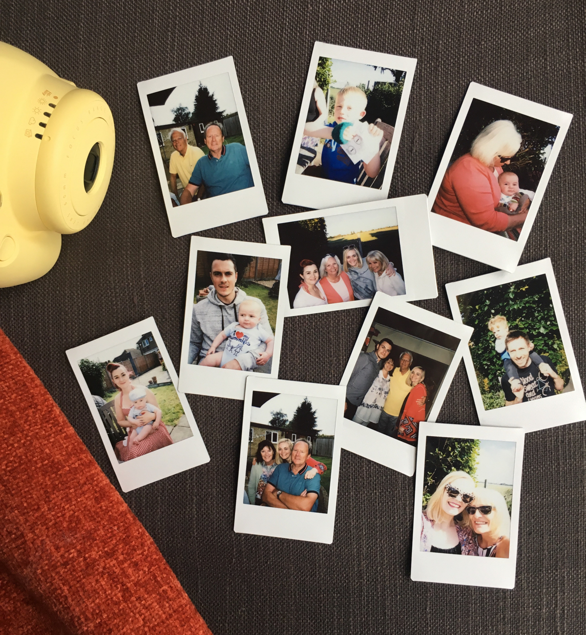 family-polaroids