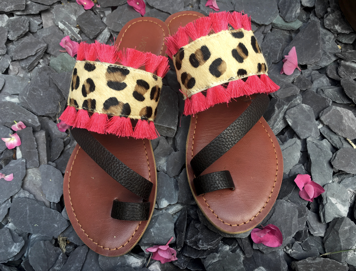 animal-print-sandals