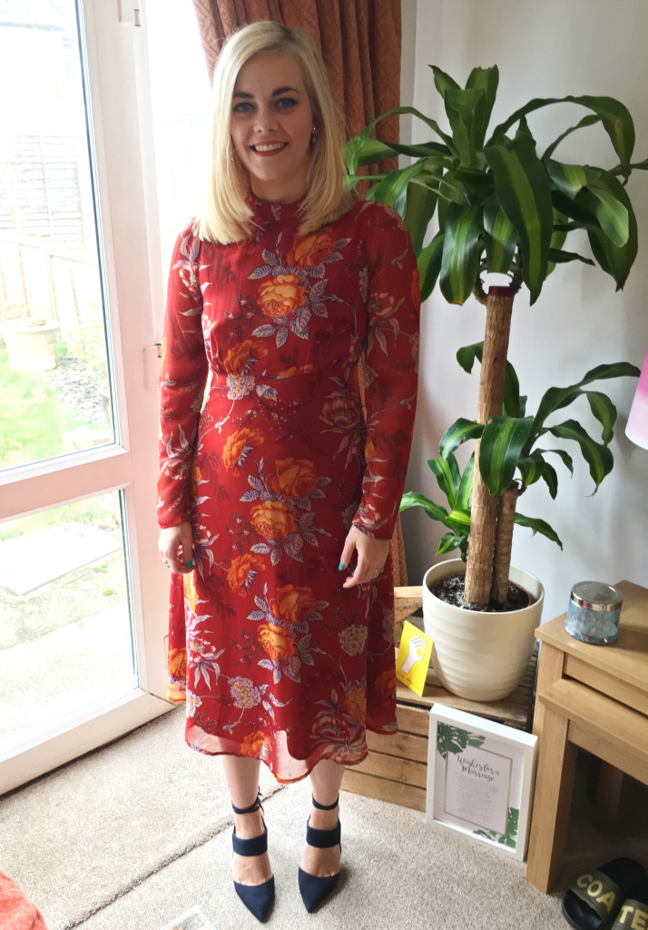 The Red Midi Dress That Makes Me Feel My Very Best