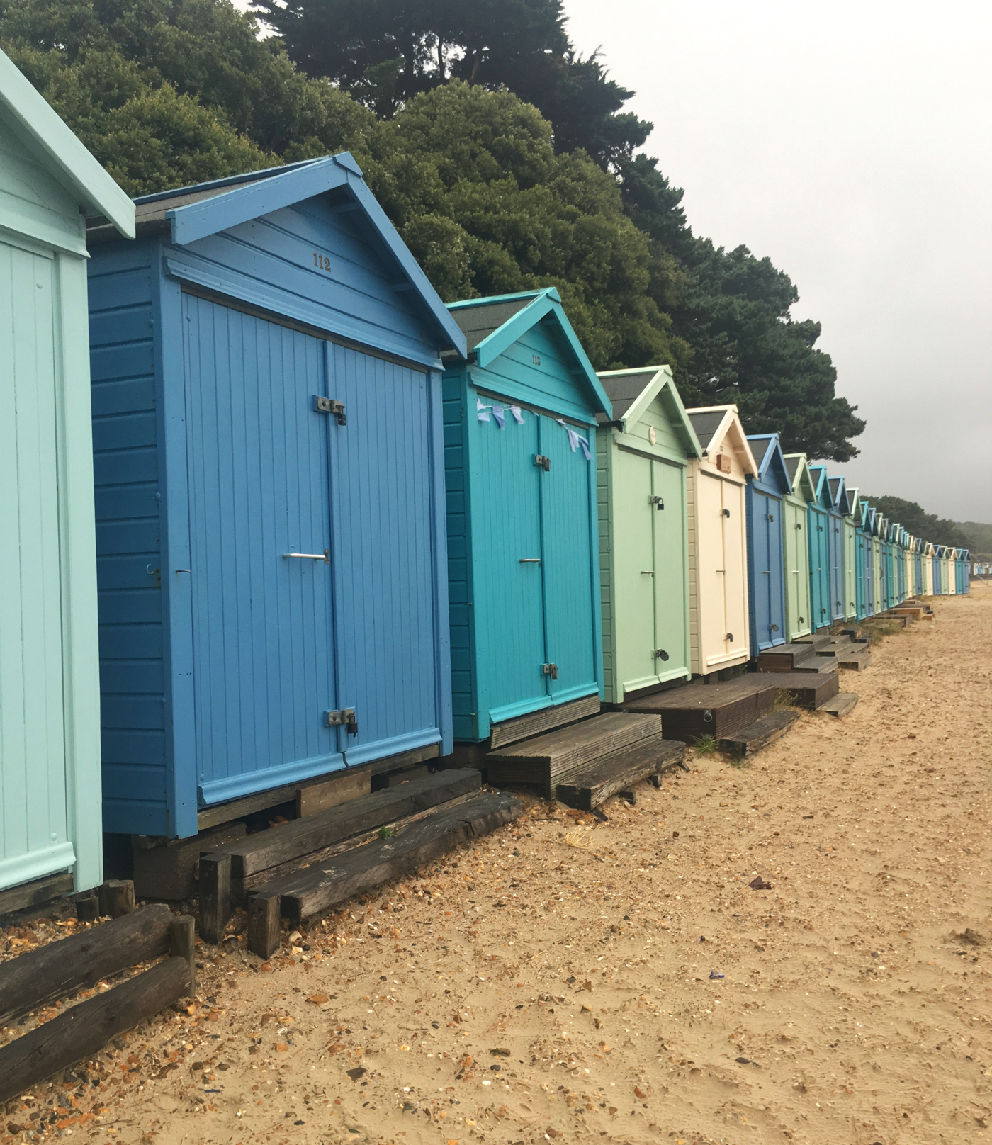 Mudeford Quay beach huts