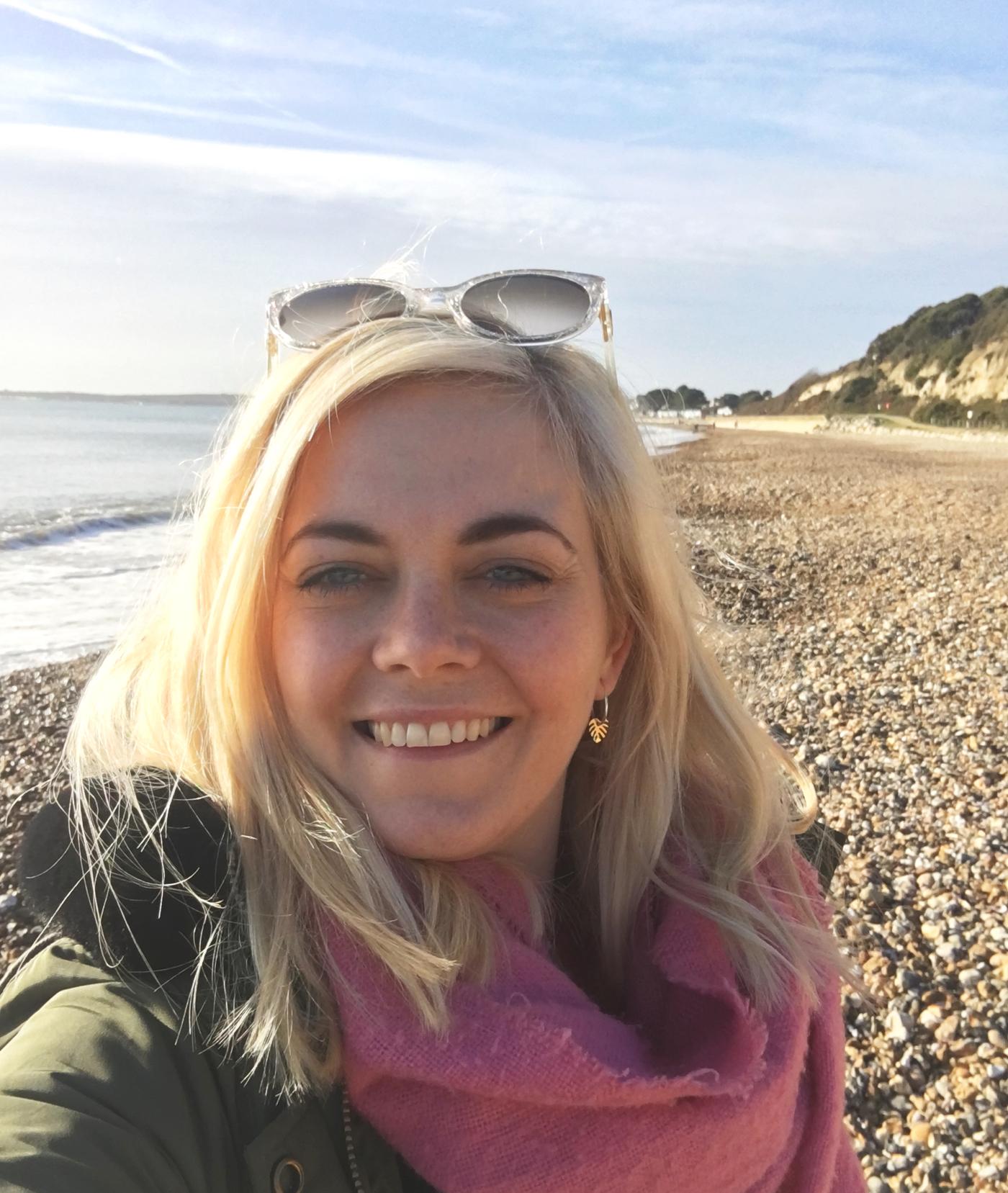 avon beach selfie