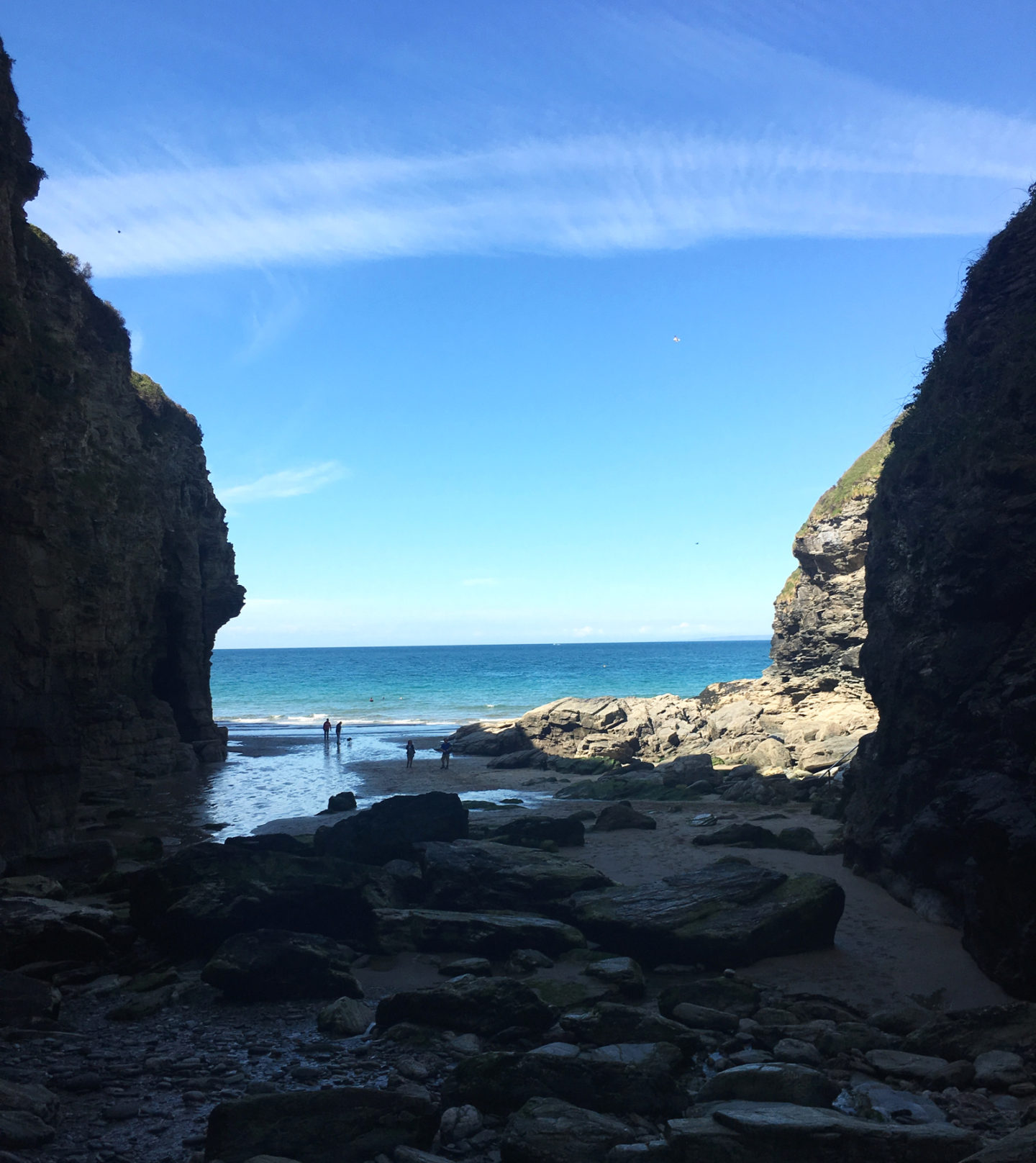 Bossiney Cove Beach