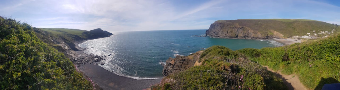 Crackington Haven by panoramic